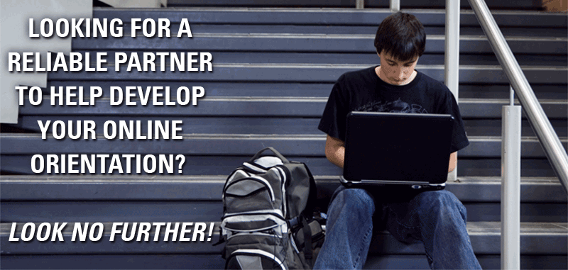 Looking for a reliable partner to help develop your online orientation?